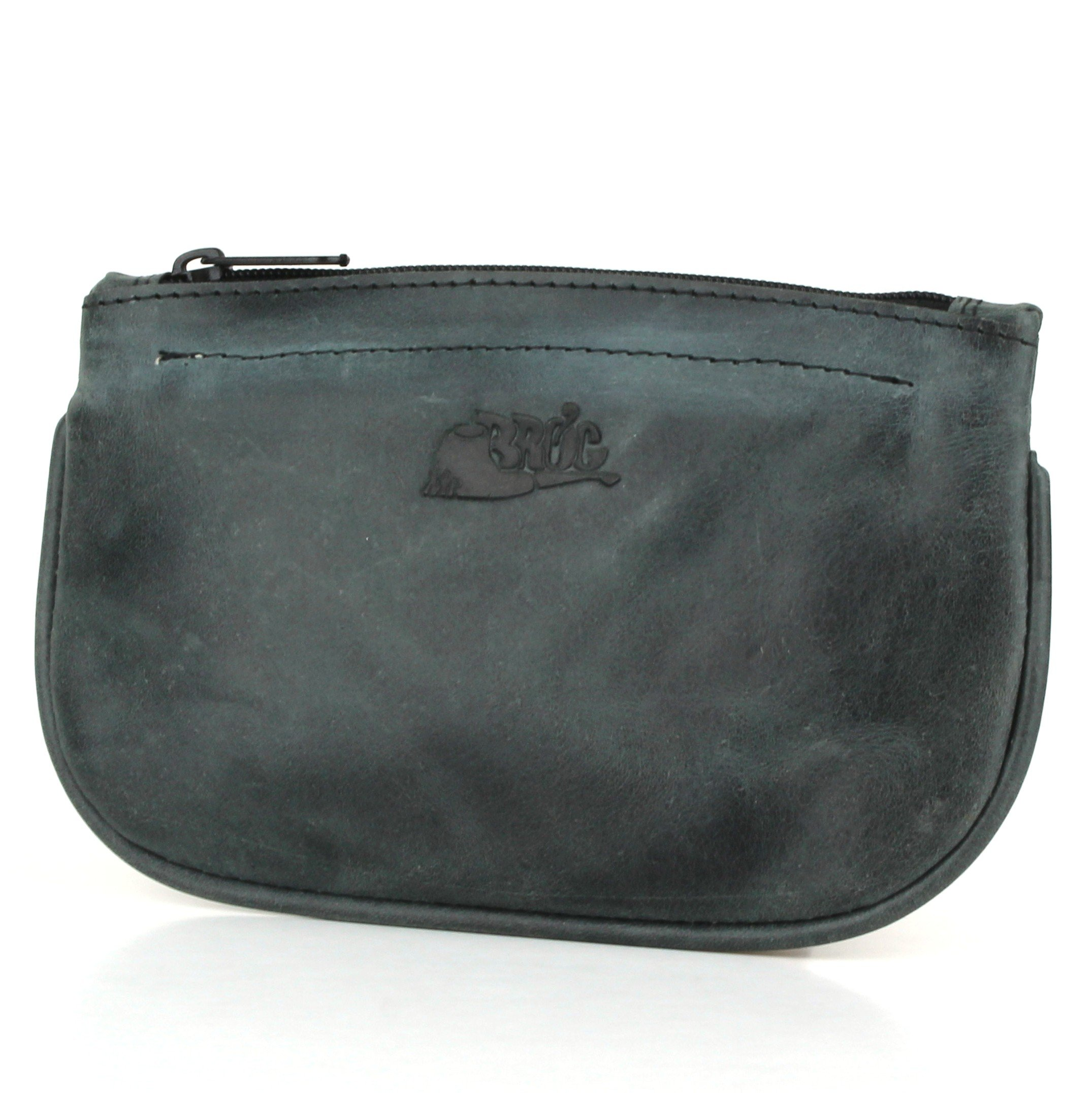 Pipe Tobacco Pouch - Diesel Leather - [Slate Black]