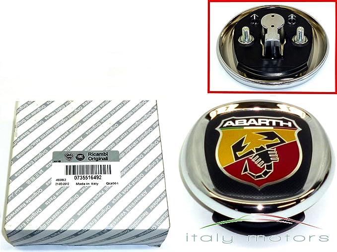 Fiat Garage Tiel : Original fiat grande punto abarth heckemblem amazon