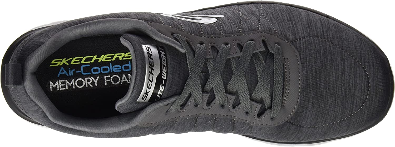Skechers Flex Advantage 2.0, Chaussures Multisport Outdoor Homme Gris Char