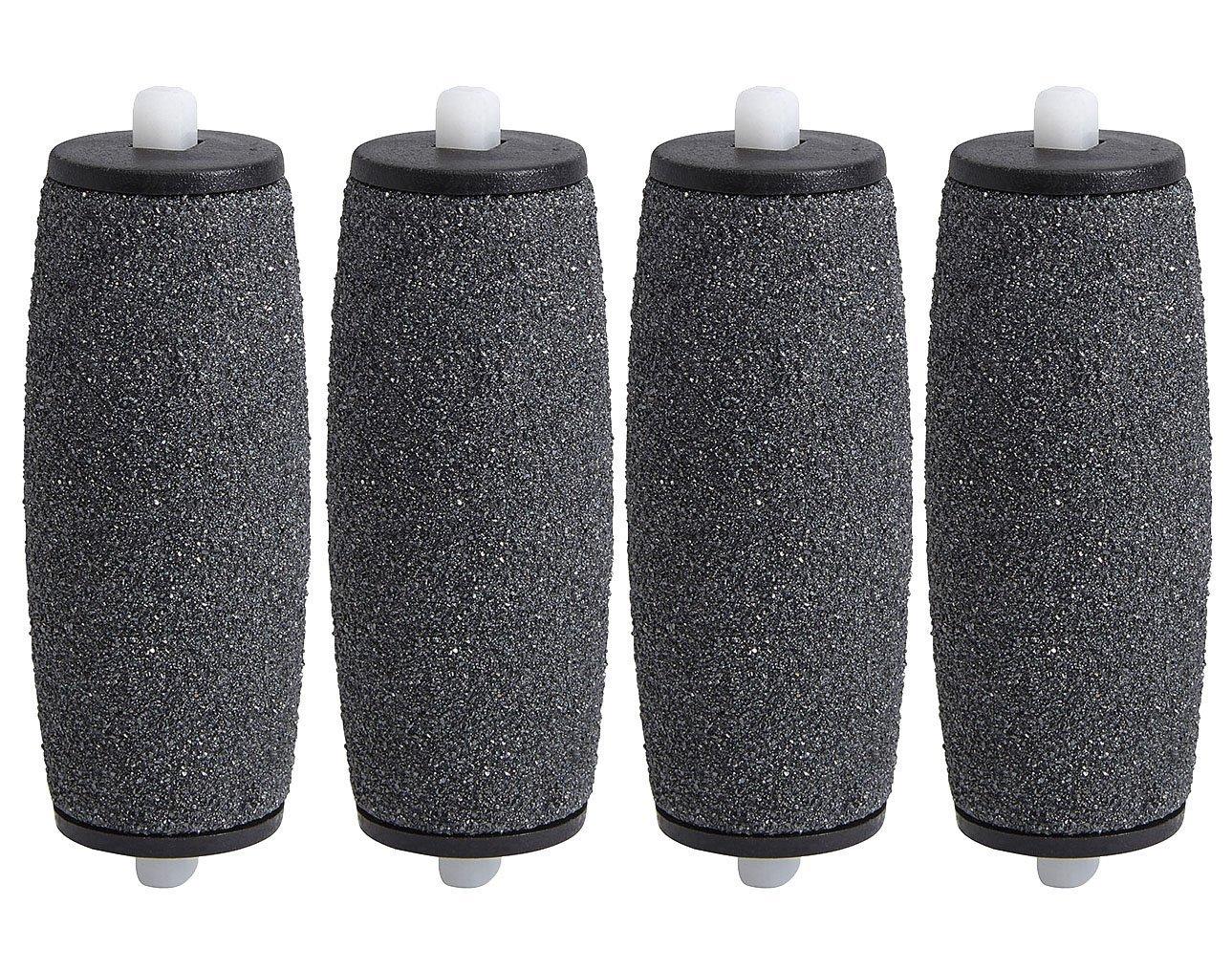4 x Rouleaux Ponceurs Micro-Minéraux de Remplacement pour Scholl Velvet Smooth My Rollers® RR-VS1