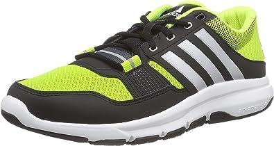 adidas Gym Warrior .2, Zapatillas de Running para Hombre, Verde/Gris/Negro (Seliso/Plamet/Amasol), 48 2/3 EU: Amazon.es: Zapatos y complementos