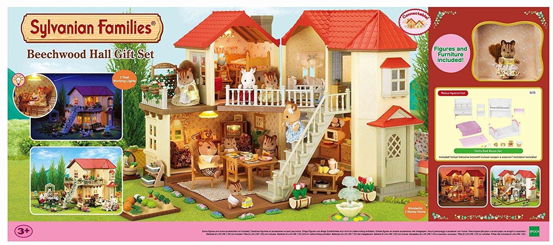 シルバニアのビーチウッドホールギフトセット2015 Sylvanian Families Beechwood Hall Gift Set   B016OQ0NZU