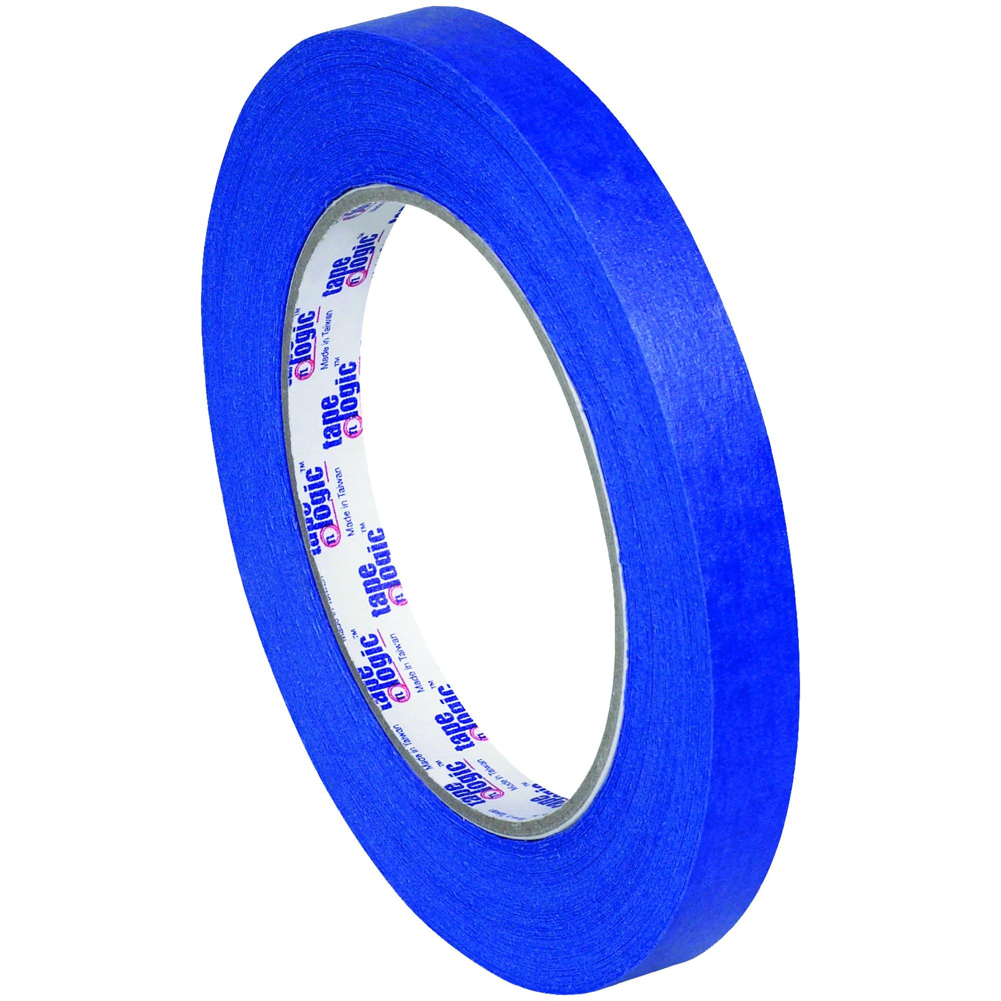 BOX USA BT9333000 Tape Logic 3000 Painter's Tape, 1/2'' x 60 yd., Blue (Pack of 72)