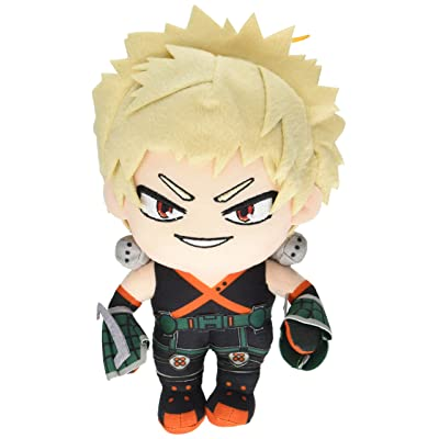 Great Eastern GE-52236 My Hero Academia Katsuki Bakugo Hero Suit Stuffed Plush: Toys & Games
