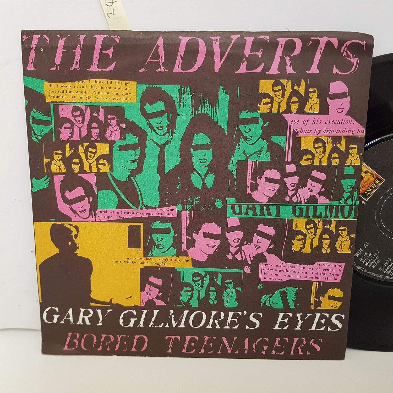 The Adverts Gary Gilmores Eyes Bored Teenagers 7 Vinyl Anc1043 Amazon Co Uk Music