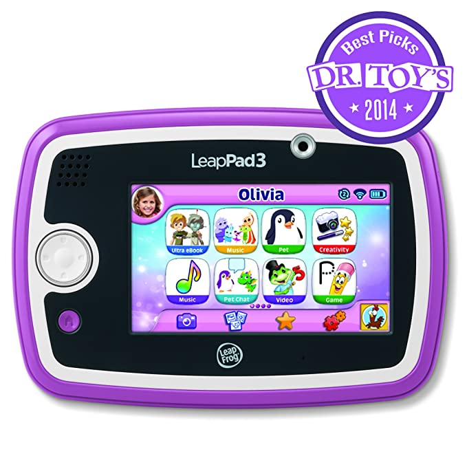 Amazon leapfrog leappad3 kids learning tablet pink toys games fandeluxe Choice Image