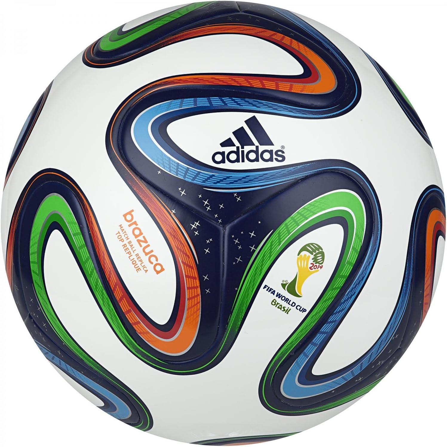adidas Hombres Brazuca con balón Pelota, Unisex, Color - Multi ...