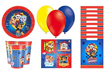cumpleaños patrulla canina -patrulla canina Kit de ...