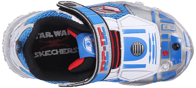 Star Wars Skechers Kids R2D2 Damager III Astronech Sneaker (ToddlerLittle Kid)