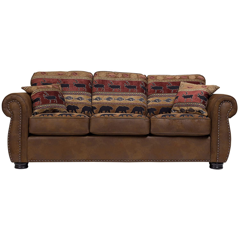 Amazon.com: Porter Designs U8020 Hunter Transitional Sofa ...
