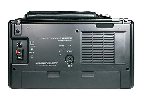 Amazon.com: Grundig/Eton S350 AM/FM/Shortwave Field Radio with Alarm ...