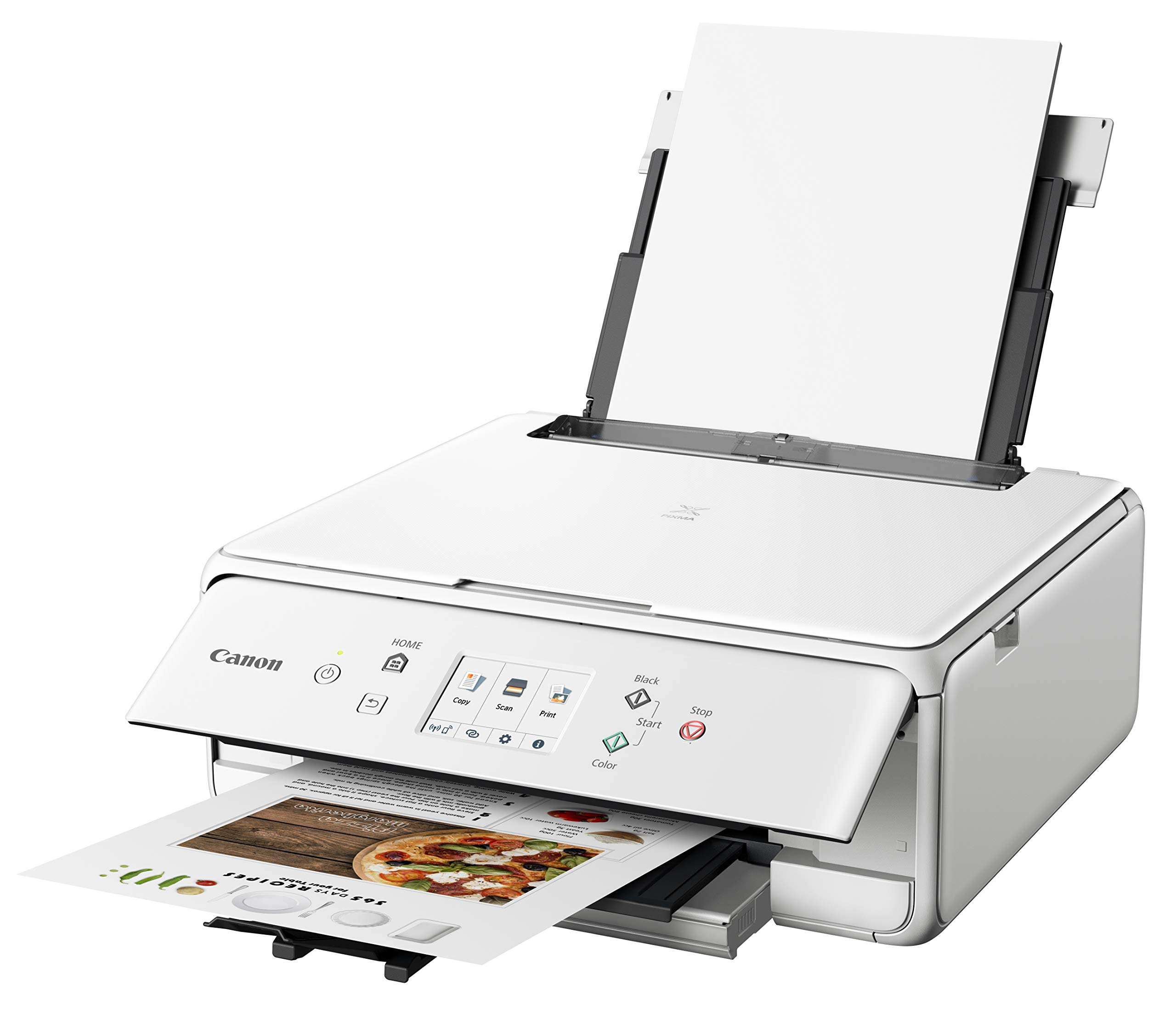 Canon PIXMA TS6220 Wireless All in One Printer with Mobile Printing, White by Canon (Image #3)
