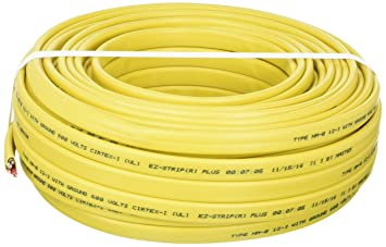 Cerrowire 147-1603CR 100-Foot 12/3 NM-B Solid with Ground Wire ...