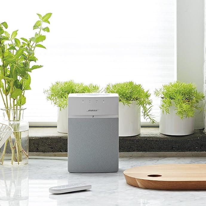补货 Bose SoundTouch 10 无线音乐系统 蓝牙桌面音箱 5折$99 海淘转运到手约¥827 国内¥1700