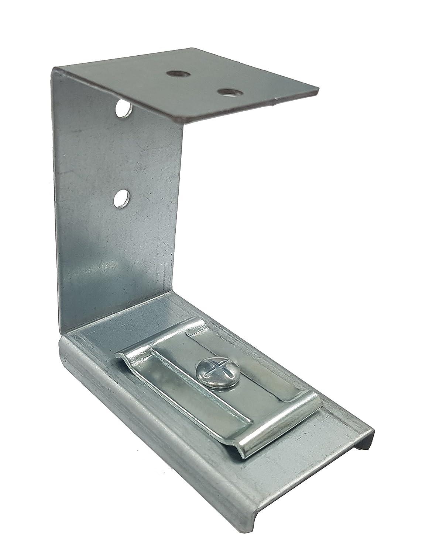 Direct Channel - Bandeja de rejilla portacables larga para colocar debajo del escritorio, con soporte y tornillos, plateada.: Amazon.es: Bricolaje y ...