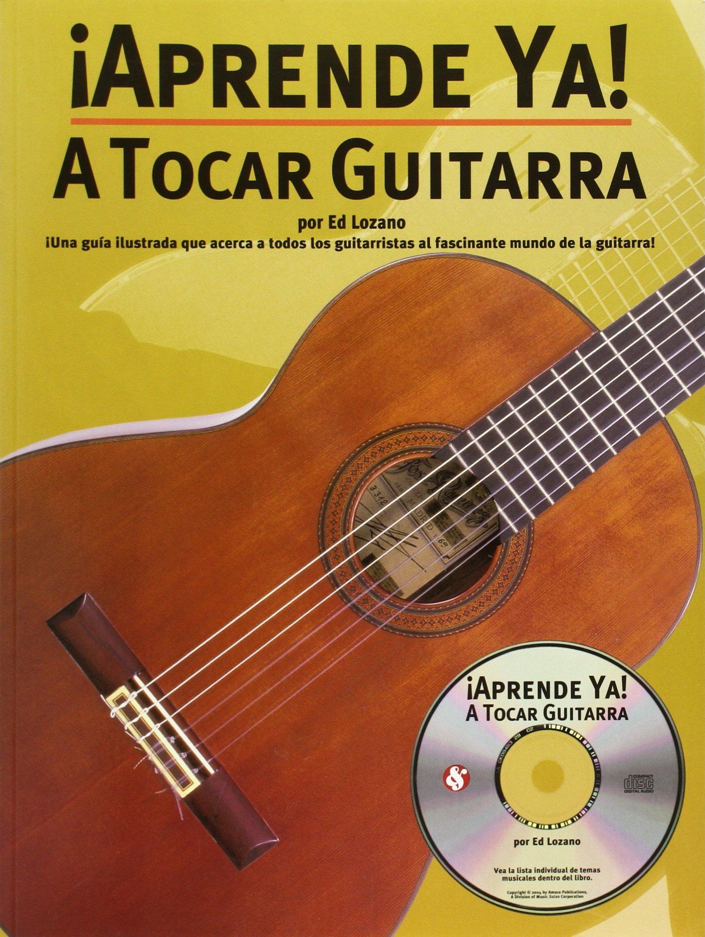 APRENDE YA! TOCAR+CD GUITARRA: Amazon.es: Lozano Ed: Libros en ...