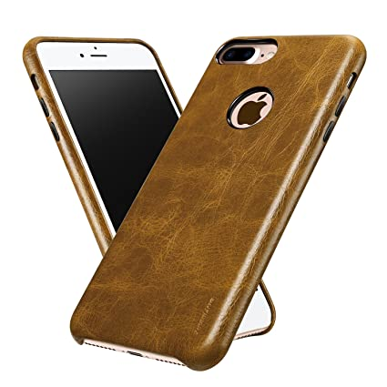IPhone 7 Plus Leather Case ALYEE Ultra Thin Real Genuine Protective