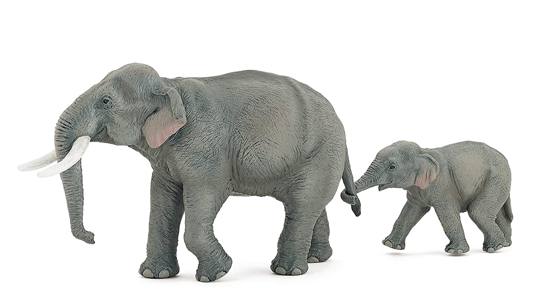 Amazon papo asian elephant toy figure toys games biocorpaavc Gallery