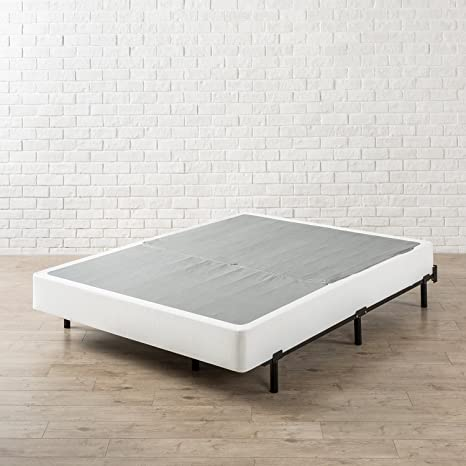 low priced 0d413 7a5d0 Zinus Paige Compack Adjustable 7 Inch Heavy Duty Bed Frame, for Box Spring  and Mattress Sets, Fits Full Queen King