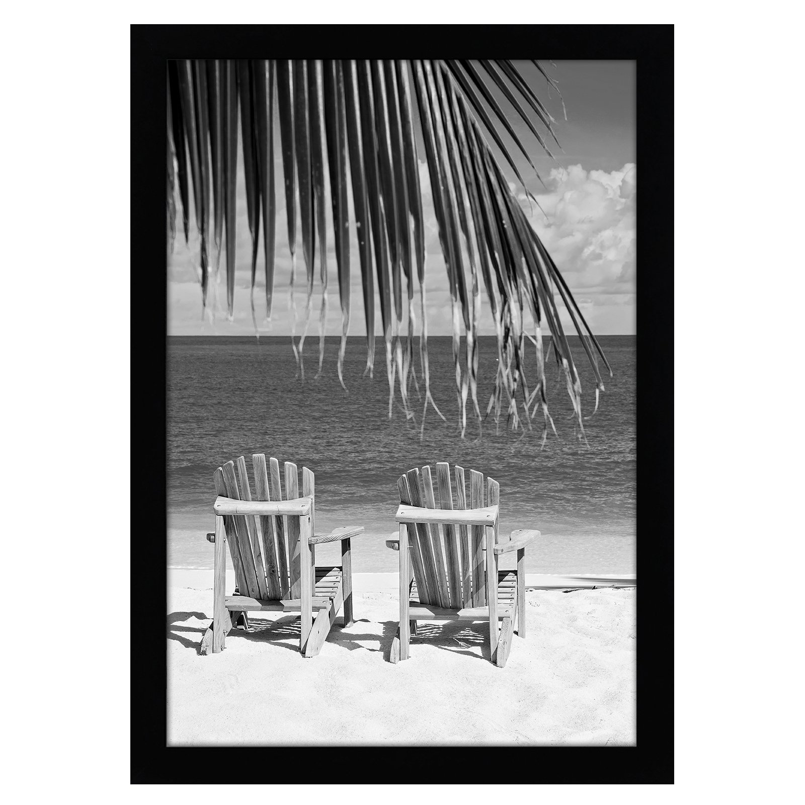 Americanflat 13x19 Black Poster Frame - Shatter-Resistant Glass - Hanging Hardware Included by Americanflat