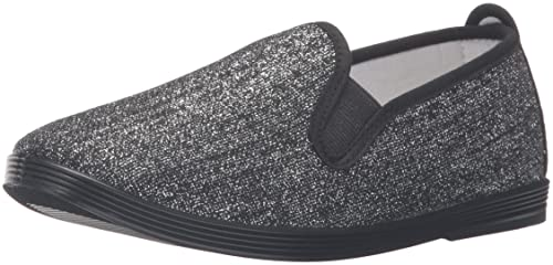 Reentrable Osuna Mocasines para Mujer de Tela, Color Plata, Talla 35: Amazon.es: Zapatos y complementos