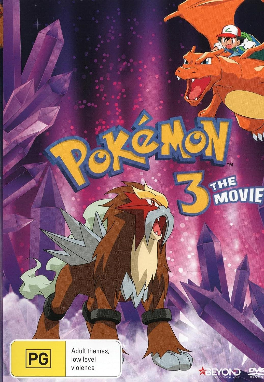 Amazon Com Pokemon 3 The Movie Anime Non Usa Format Pal