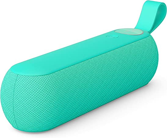 Libratone Too Bluetooth Lautsprecher 360 Sound Touch Bedienung Ipx4 Spritzwassergeschützt 12 Std Akku Caribbean Green Audio Hifi