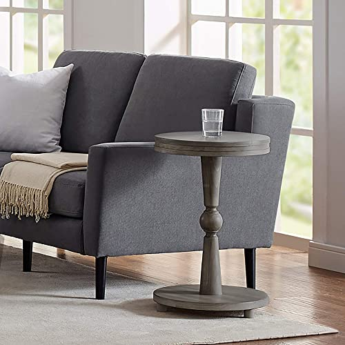 Classic Brands Rustic Farm House Solid Wood End Table