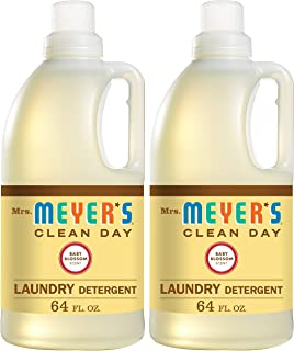 product image for Mrs. Meyer's Laundry Detergent, Baby Blossom, 64 fl oz (2 ct)