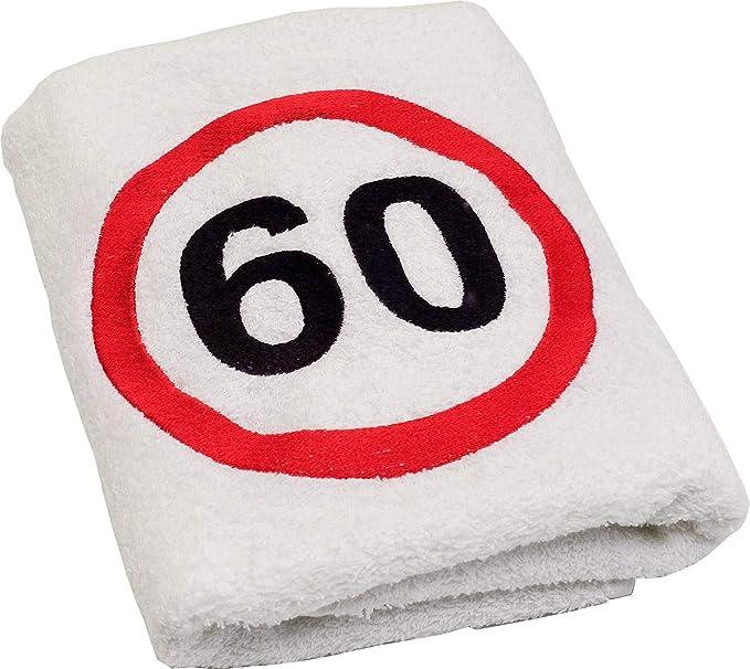 ABC de casa regalo de 60 cumpleaños toalla con bordado ...