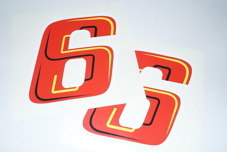 Paar rapro Grafiken Stefan Bradl 6/Race Nummer
