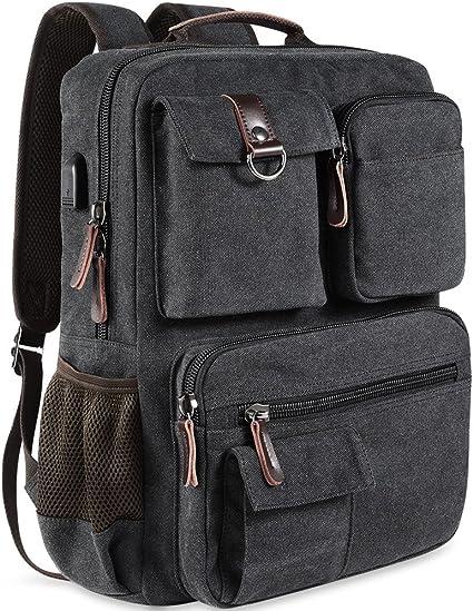 New Retro Backpack Travel Bag rucksack Bookbags Laptop canvas School bag Women/'s