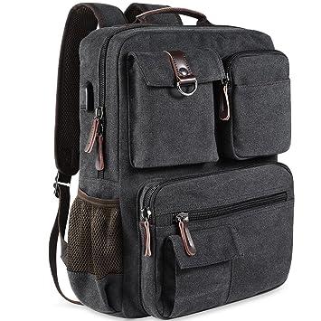 Amazon.com: School Backpack Vintage Canvas