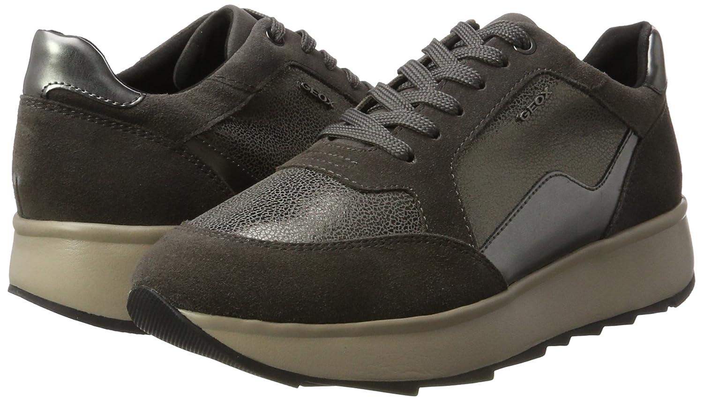 Geox Damen (Dk D Gendry B Sneaker Grau (Dk Damen Grau) 045ec8