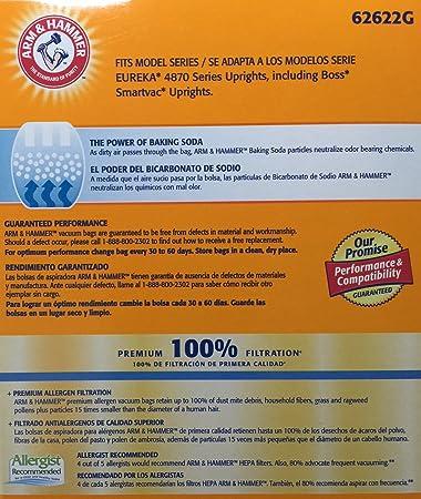 Premium Allergen Vacuum Bags, Eureka RR, 3 Bags