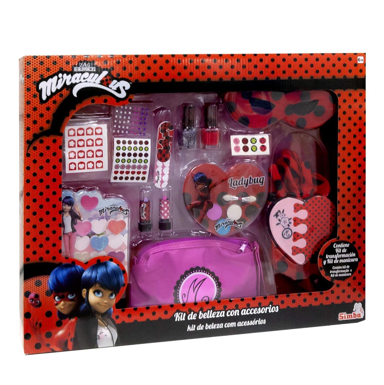 Miraculous Ladybug - Kit de belleza con accesorios (Simba 9413171)