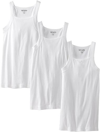 8716fafcf9d3d4 Papi 559102 Men s Premium Cotton Square Neck Tank Top 3-Pack