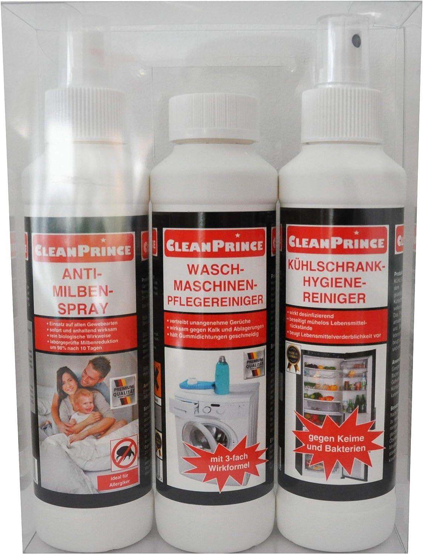 Cleanprince 3 Unidad Alérgico y Higiene Set 1 X Ácaros Espray ...