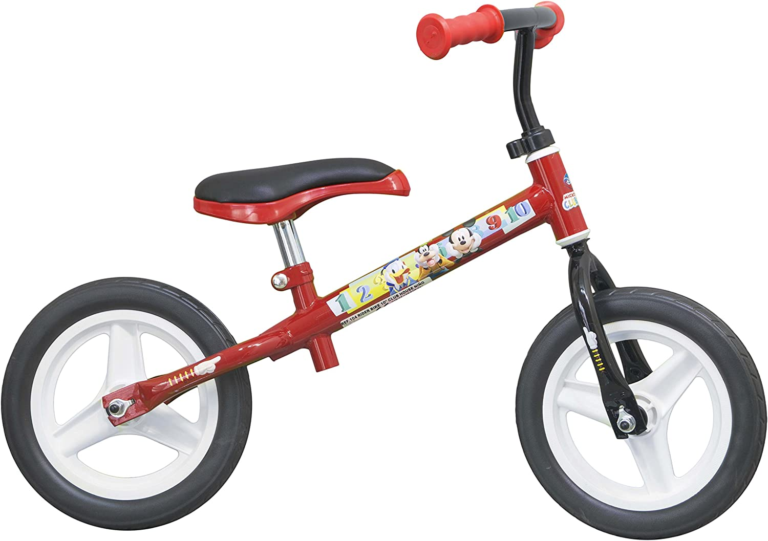 Mickey Mouse - Rider Bike, Bicicleta de 10
