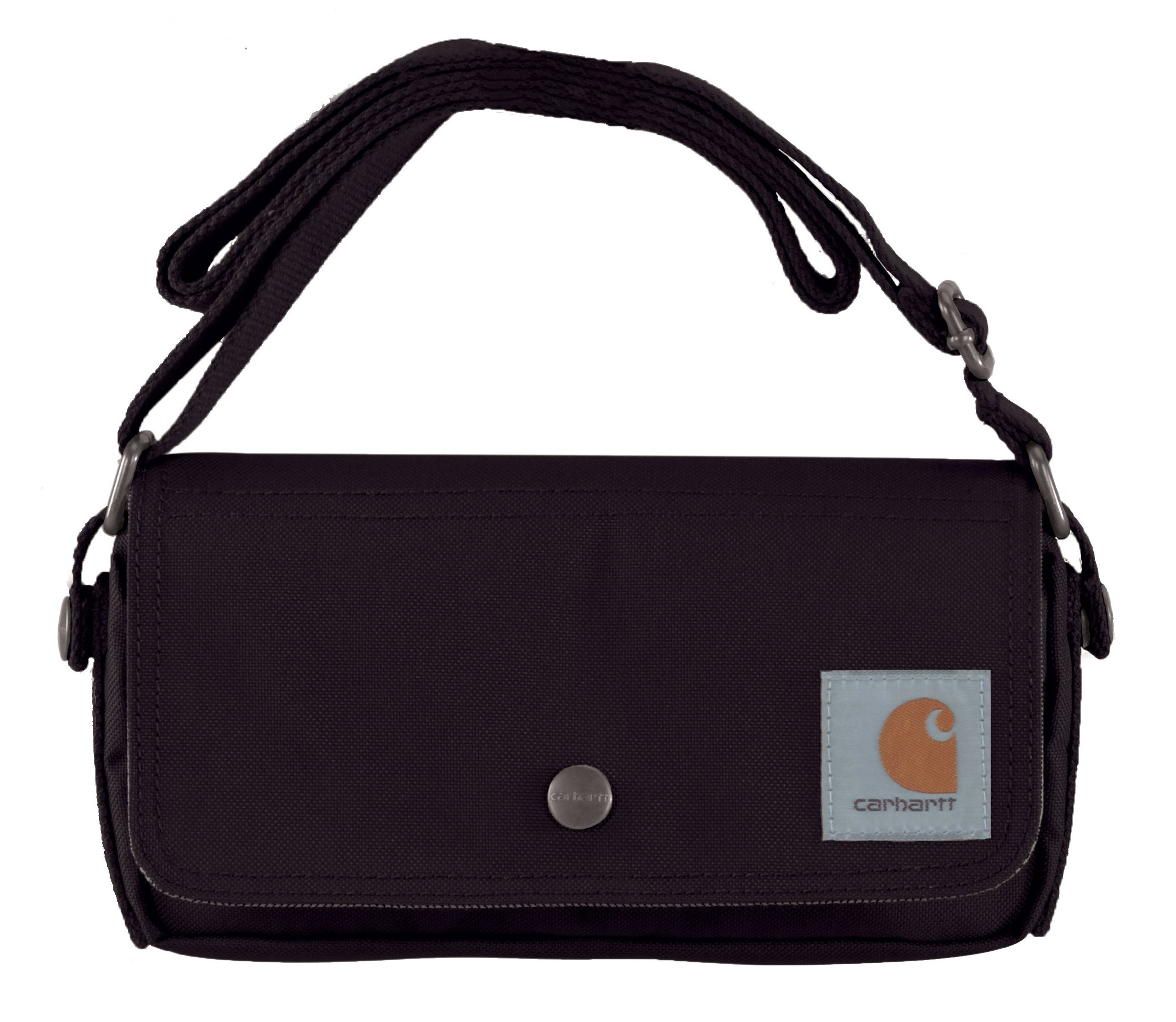 Carhartt Legacy Women's Essentials Crossbody Bag and Waist Pouch, Black by Carhartt
