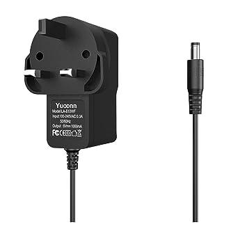 Yuconn - Cargador de Pared con Adaptador de CA (6 V, 1 A,
