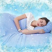 SOLEDI Manta Verano 150x200 cm para Personas con Alta Temperatura Corporal, Manta Cama Adopta Fibra De Refrigeración MAX…