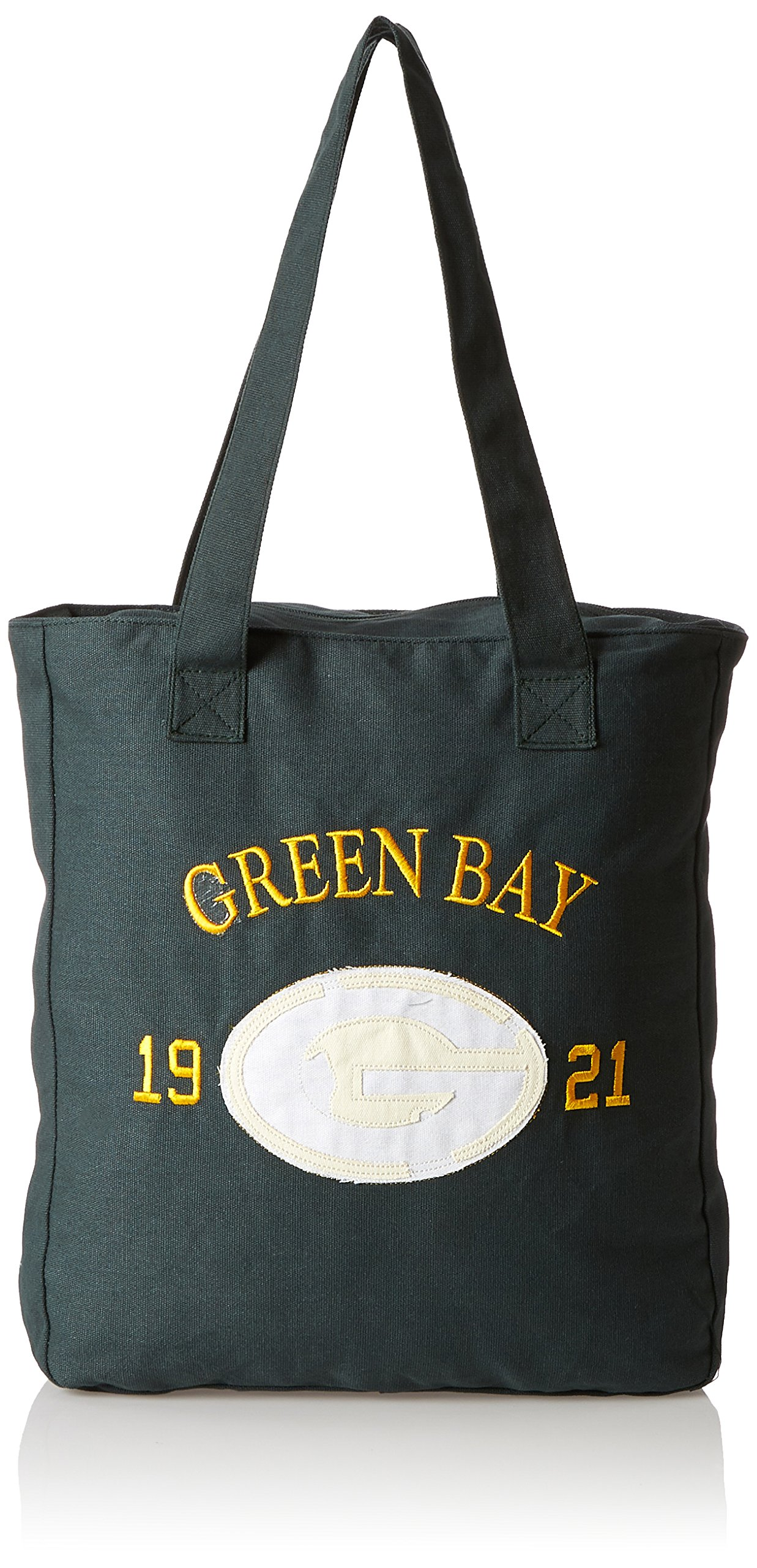 Green Bay Packers Pr Canvas Established Date Tote