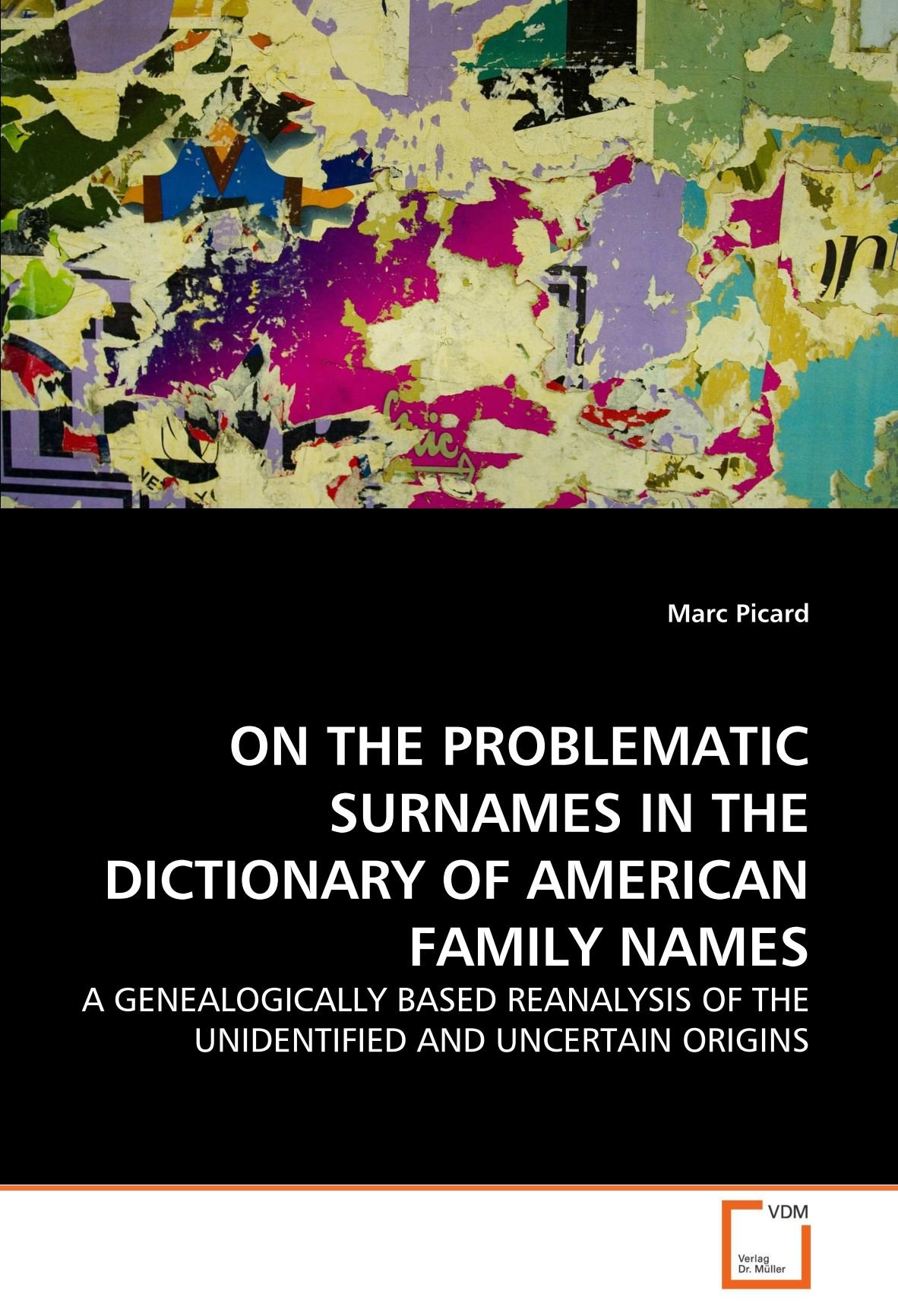 Buy On the Problematic Surnames in the Dictionary of American Family Names  Book Online at Low Prices in India | On the Problematic Surnames in the ...