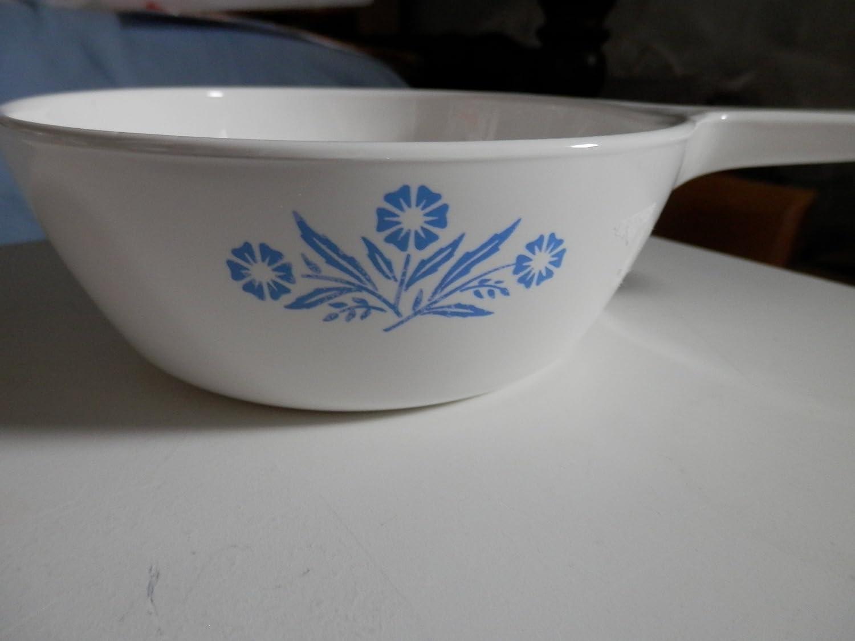 Corning Ware BLUE CORNFLOWER 1 Pint 0.5 L Menuette Sauce Pan P-81-B