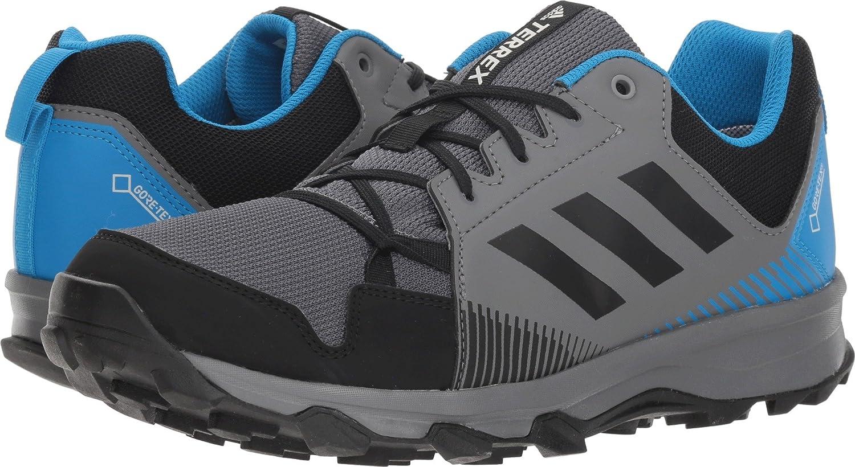 adidas outdoor Men's Terrex Tracerocker GTX Trail Running Shoe B078WFR5Q2 6.5 D(M) US|Grey Four/Black/Bright Blue