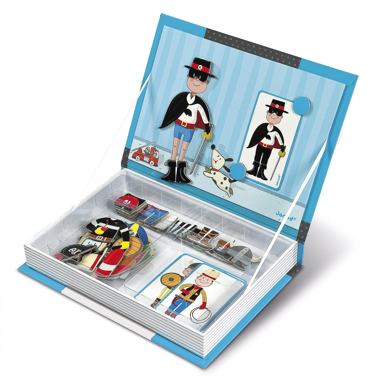 Janod - Magnetibook chico, libro magnético (J05544): Amazon.es: Juguetes y juegos