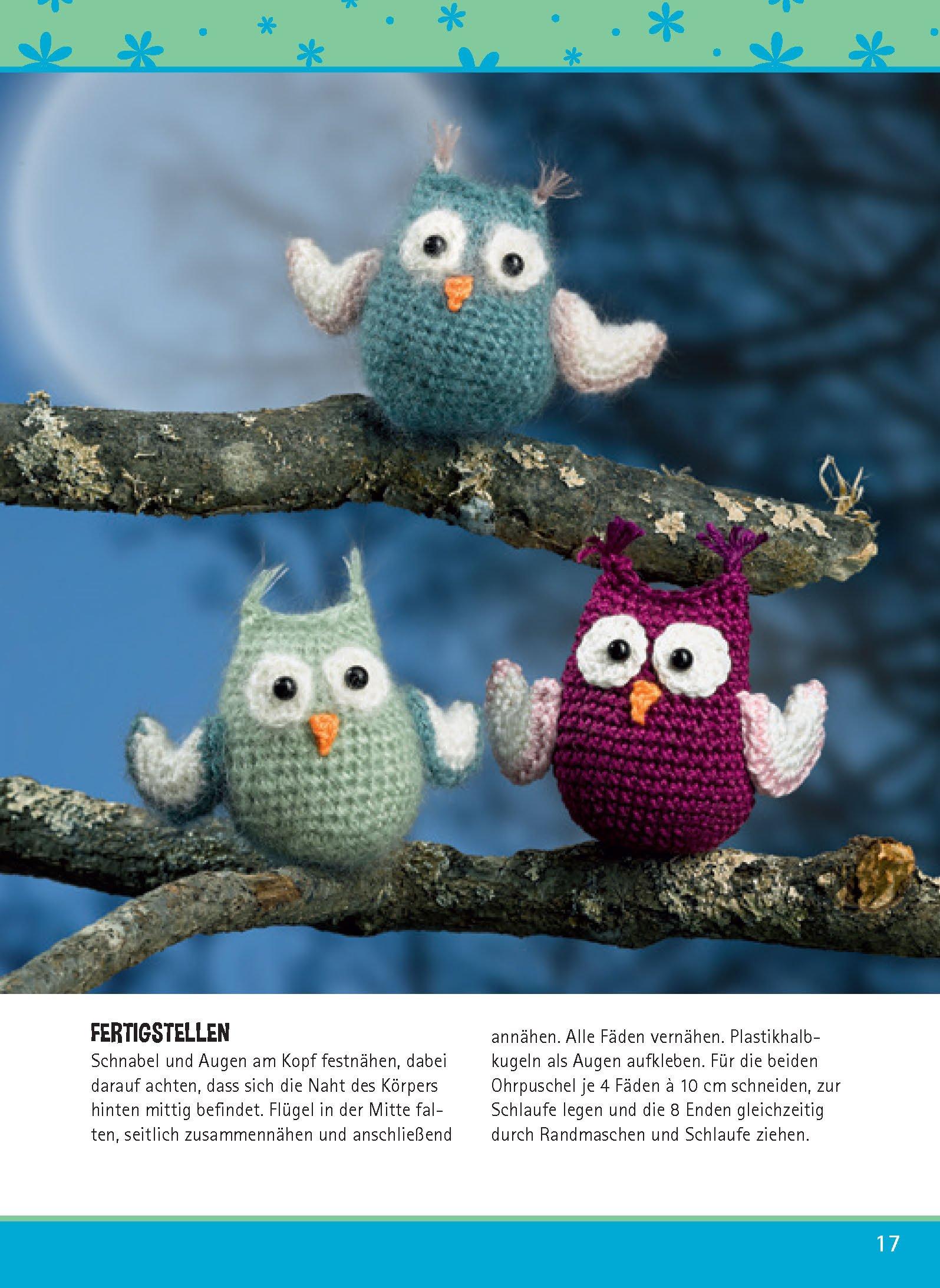 Kreativset Häkelfiguren Süße Tiere Und Leckereien Häkeln Set Mit