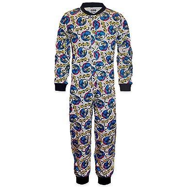 dc992605cd9b6 Grenouillère enfant Garçon coton- pyjama -motif Batman.  Amazon.fr ...