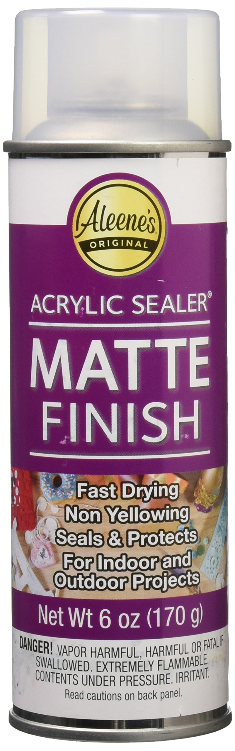 Aleene's 26413  Spray Acrylic Sealer Matte Finish 6oz